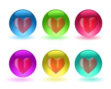 Free Heart In A Sphere Royalty Free Stock Photos - 15339968
