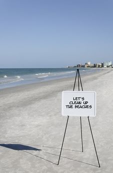 Free Clean Up The Beaches Royalty Free Stock Images - 15339979