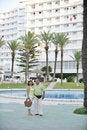 Free Happy Seniors Couple  On Beach Royalty Free Stock Image - 15348966