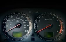 Free Speedometer Royalty Free Stock Photo - 15340125
