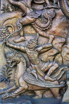 Free Low Relief Sculptures Stock Images - 15340664