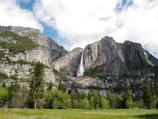 Free Yosemite Falls, California Royalty Free Stock Photos - 15341728