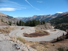 Free High Mountain Road Stock Images - 15341834