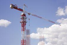 Free Construction Crane Royalty Free Stock Photos - 15341908