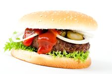 Free Hamburger Stock Photos - 15342393