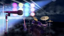 Free Microphones On Stage Stock Photos - 15343703