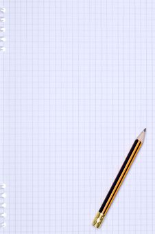 Free Pencil On Paper Royalty Free Stock Photos - 15343788