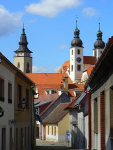 Free Historic Town Of Telc Stock Photography - 15343892
