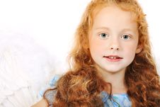 Free Girl Angel Royalty Free Stock Photography - 15343897