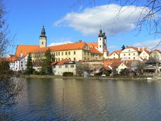 Free Town Of Telc (UNESCO) Stock Photography - 15343912