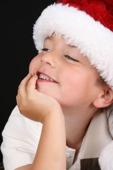 Free Christmas Boy Royalty Free Stock Image - 15344076