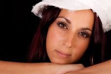Free Portrait Of A Brunette Stock Images - 15344124