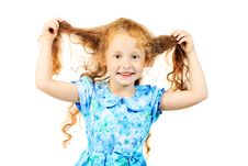 Free Red-haired Child Royalty Free Stock Photo - 15344145