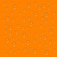 Free Orange Drops Stock Image - 15344721