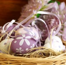 Free Easter Eggs Composition Stock Image - 15345431