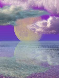 Free Moonlightning Stock Image - 15345741
