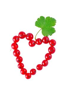 Free Heart Of Red Currant Royalty Free Stock Photo - 15345875