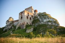 Old Castle Ruins Stock Photo