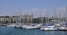 Free Barcelona, Olimpic Port Royalty Free Stock Images - 15346329