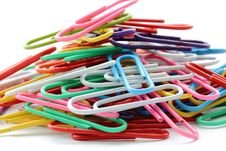Free Pile Of Paper Clips Stock Photography - 15347212