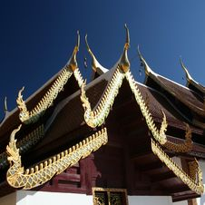 Free Temple In Bangkok Royalty Free Stock Image - 15347326