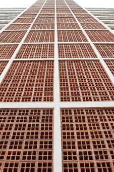 Free Brickbat Wall Stock Photography - 15347412