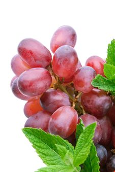 Free Closeup Shot Of Red Grapes Stock Photos - 15347573