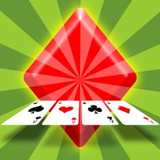 Free 4 Aces Stock Images - 15347734
