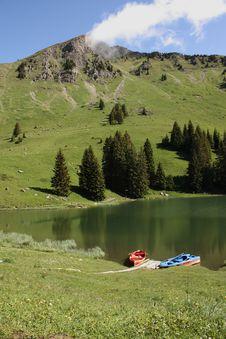 Free Swiss Mountain View Stock Photos - 15348673