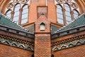 Free Red Bricks Church Stock Photo - 15351170