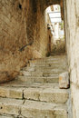 Free Old Stone Staircase In Kotor, Montenegro Royalty Free Stock Photo - 15351975