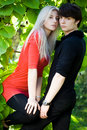 Free Couple - Girl And Guy Royalty Free Stock Photo - 15354975