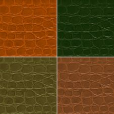 Free Crocodile Textured Stock Photography - 15350022