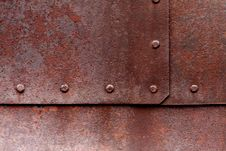 Free Small Rusty Rivets Stock Photography - 15350052