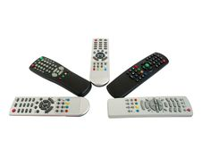 Free Remote Controls Royalty Free Stock Image - 15350096
