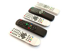 Remote Controls Royalty Free Stock Photography