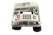 Free Remote Controls Stock Image - 15350141