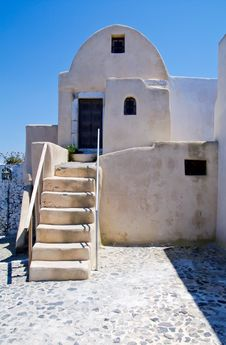 Free House In Greece Stock Image - 15350511