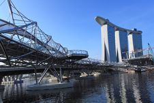 Free Marina Bay Sands Integrated Resort,Singapore Royalty Free Stock Photos - 15350588