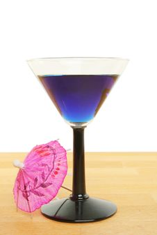 Free Blue Cocktail Stock Image - 15351281