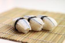Free Delicious Nigiri Sushi Stock Photography - 15351952