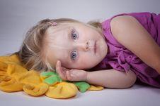 Free Sleepy Kid Stock Images - 15351954