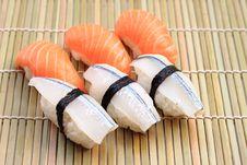 Free Delicious Nigiri Sushi Royalty Free Stock Image - 15351986