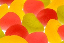 Free Fruit Candies On A White Background. Royalty Free Stock Images - 15352129