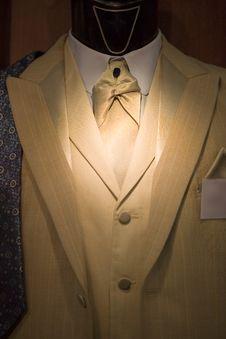 Free Suit On Shop Mannequins Stock Photos - 15352343