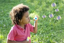 Free Soap Bubbles Royalty Free Stock Photography - 15352667