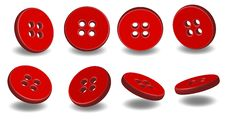 Free 3D Buttons Stock Photography - 15352892