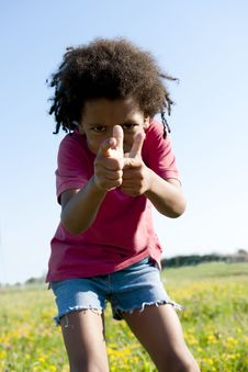 Free Little Boy Gesturing Stock Photography - 15353532