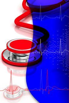 Free Stethoscope Stock Photography - 15353542
