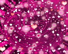 Free Background Hearts Royalty Free Stock Images - 15353569